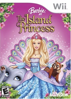 Barbie: Island Princess Cover Art