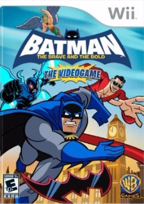 Batman: The Brave and the Bold Cover Art