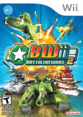 Battalion Wars 2 Cover Art