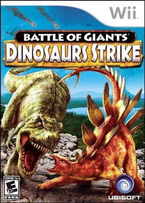 Battle of Giants: Dinosaurs Strike Cover Art
