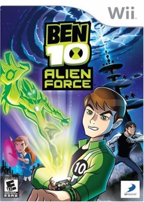 Ben 10: Alien Force Cover Art
