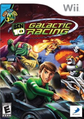 Ben 10: Galactic Racing Cover Art