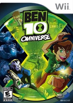 Ben 10: Omniverse Cover Art