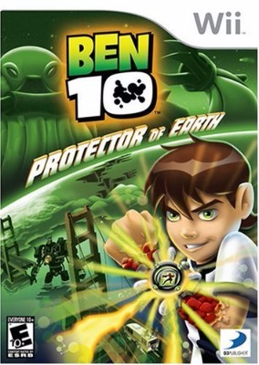 Ben 10: Protector of Earth Cover Art