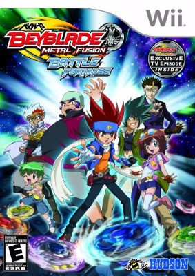Beyblade: Metal Fusion Battle Fortress Cover Art