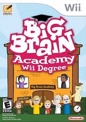 Big Brain Academy: Wii Degree Cover Art