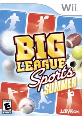 Big League Sports: Summer Cover Art