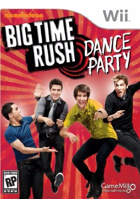 Big Time Rush: Dance Party Cover Art