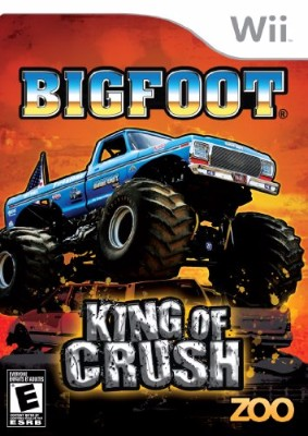 Bigfoot: King of Crush Cover Art