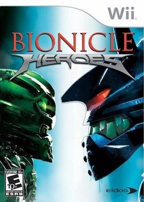 Bionicle Heroes Cover Art