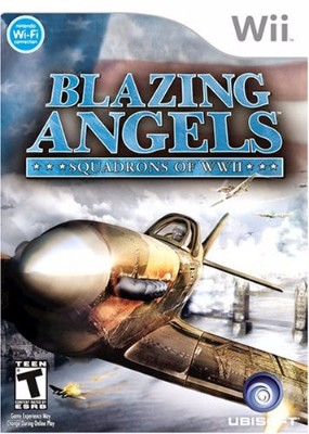 Blazing Angels: Squadrons of WWII Cover Art