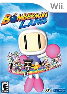 Bomberman Land Cover Art
