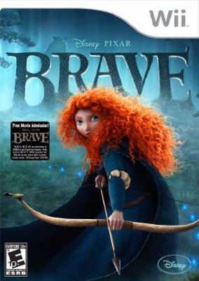 Brave: The Video Game Cover Art