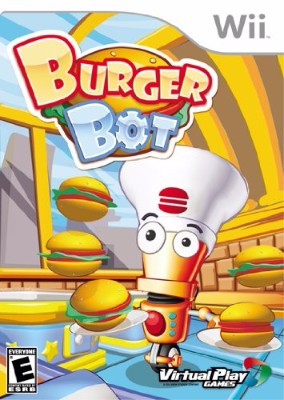 Burger Bot Cover Art