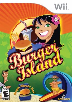 Burger Island Cover Art