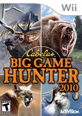 Cabela's Big Game Hunter 2010 Cover Art