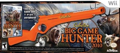 Cabela's Big Game Hunter 2010 [Gun Bundle] Cover Art