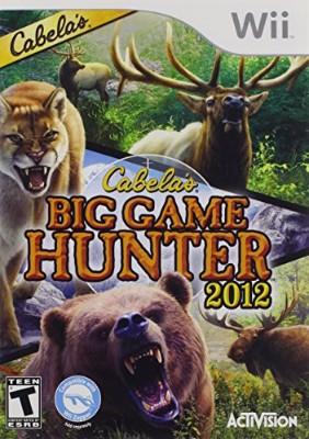 Cabela's Big Game Hunter 2012 Cover Art