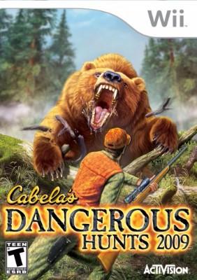 Cabela's Dangerous Hunts 2009 Cover Art