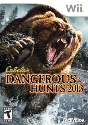 Cabela's Dangerous Hunts 2013 Cover Art