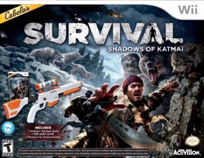 Cabela's Survival: Shadows Of Katmai [Gun Bundle] Cover Art