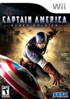 Captain America: Super Soldier Cover Art