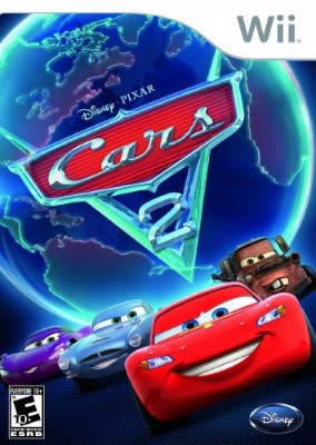 Cars 2 Cover Art