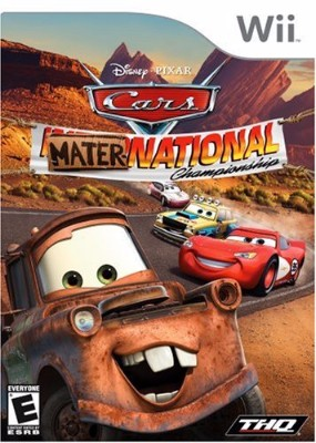 Cars Mater-National Championship Cover Art
