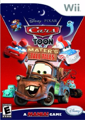 Cars Toon: Mater's Tall Tales Cover Art