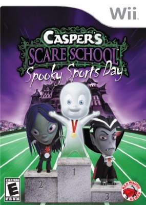 Casper Scare School: Spooky Sports Day Cover Art