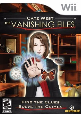 Cate West: The Vanishing Files Cover Art