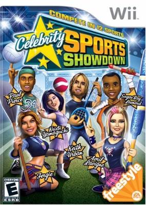 Celebrity Sports Showdown Cover Art