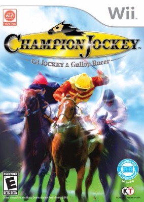 Champion Jockey: G1 Jockey & Gallop Racer Cover Art