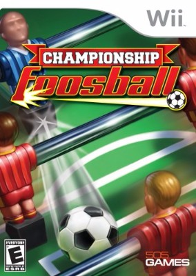 Championship Foosball Cover Art