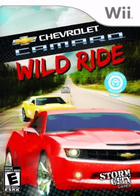 Chevrolet Camaro: Wild Ride Cover Art