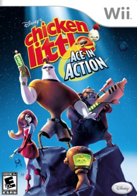 Chicken Little: Ace In Action Cover Art