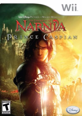 Chronicles of Narnia: Prince Caspian Cover Art