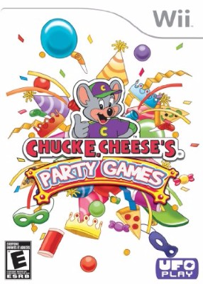 Chuck E. Cheese's Party Games Cover Art