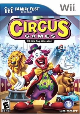 Circus Games Cover Art