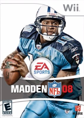 Madden NFL 08 Cover Art