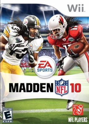 Madden NFL 10 Cover Art