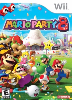 box cover art for Mario Party 8