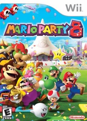 Mario Party 8 Cover Art