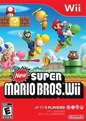 box cover art for New Super Mario Bros. Wii