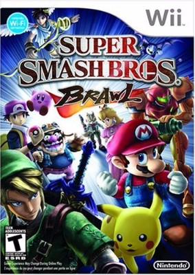 box cover art for Super Smash Bros Brawl