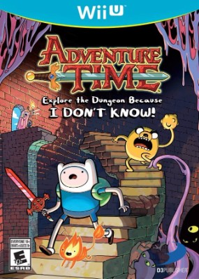 Adventure Time: Explore the Dungeon Because I Don't Know Cover Art
