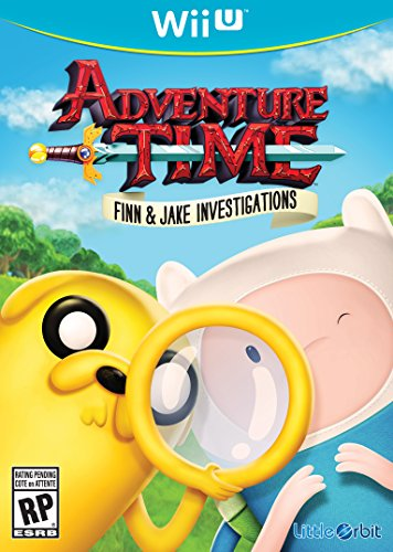 Adventure Time: Finn and Jake Investigations Cover Art