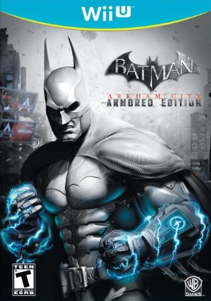 Batman: Arkham City Armored Edition Cover Art
