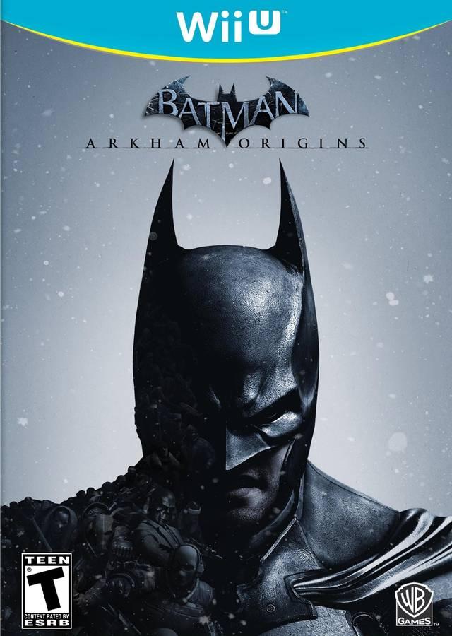 Batman: Arkham Origins Cover Art