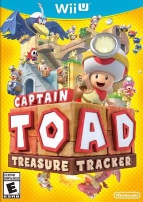 Captain Toad: Treasure Tracker Cover Art